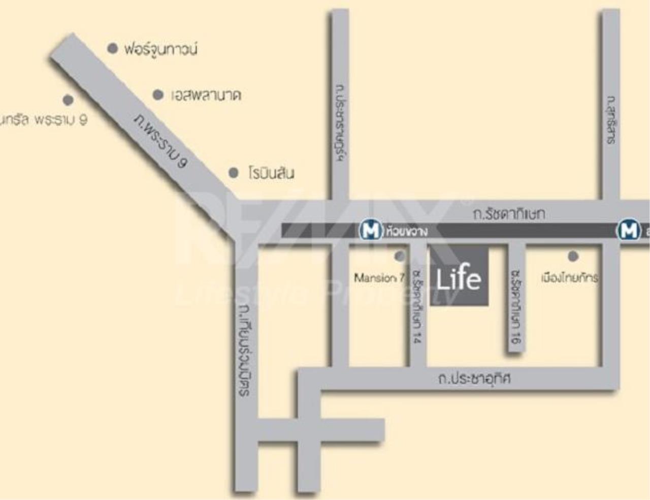 RE/MAX LifeStyle Property Agency's Life Ratchadapisek 13