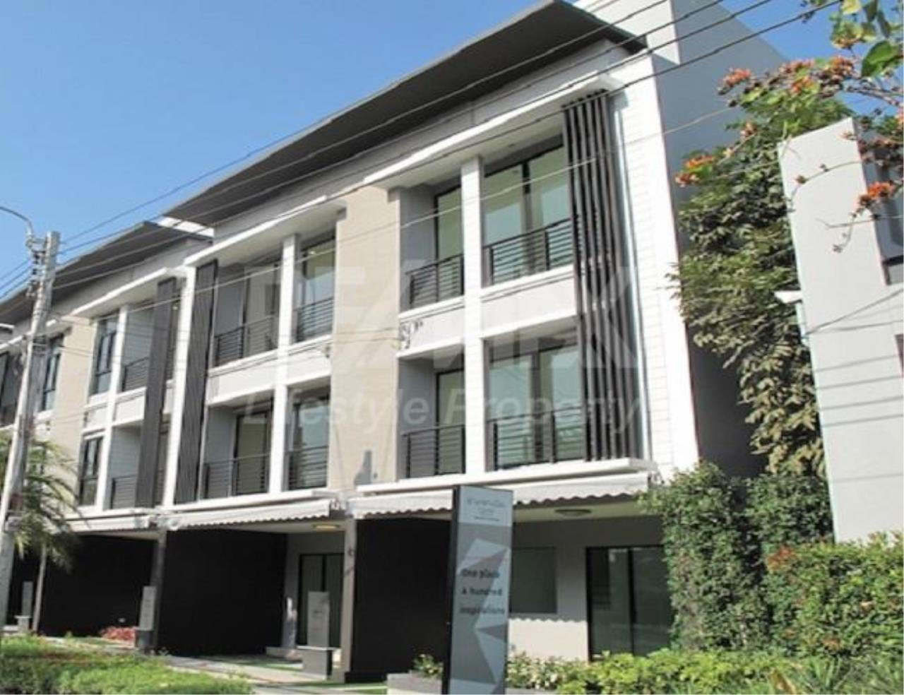 RE/MAX LifeStyle Property Agency's Town House Rama9-Ramkamhaeng 7