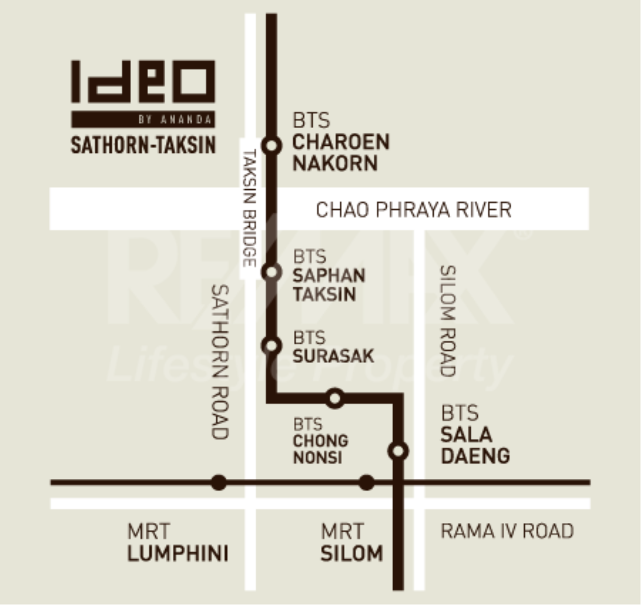 RE/MAX LifeStyle Property Agency's Ideo Sathorn-Taksin 1