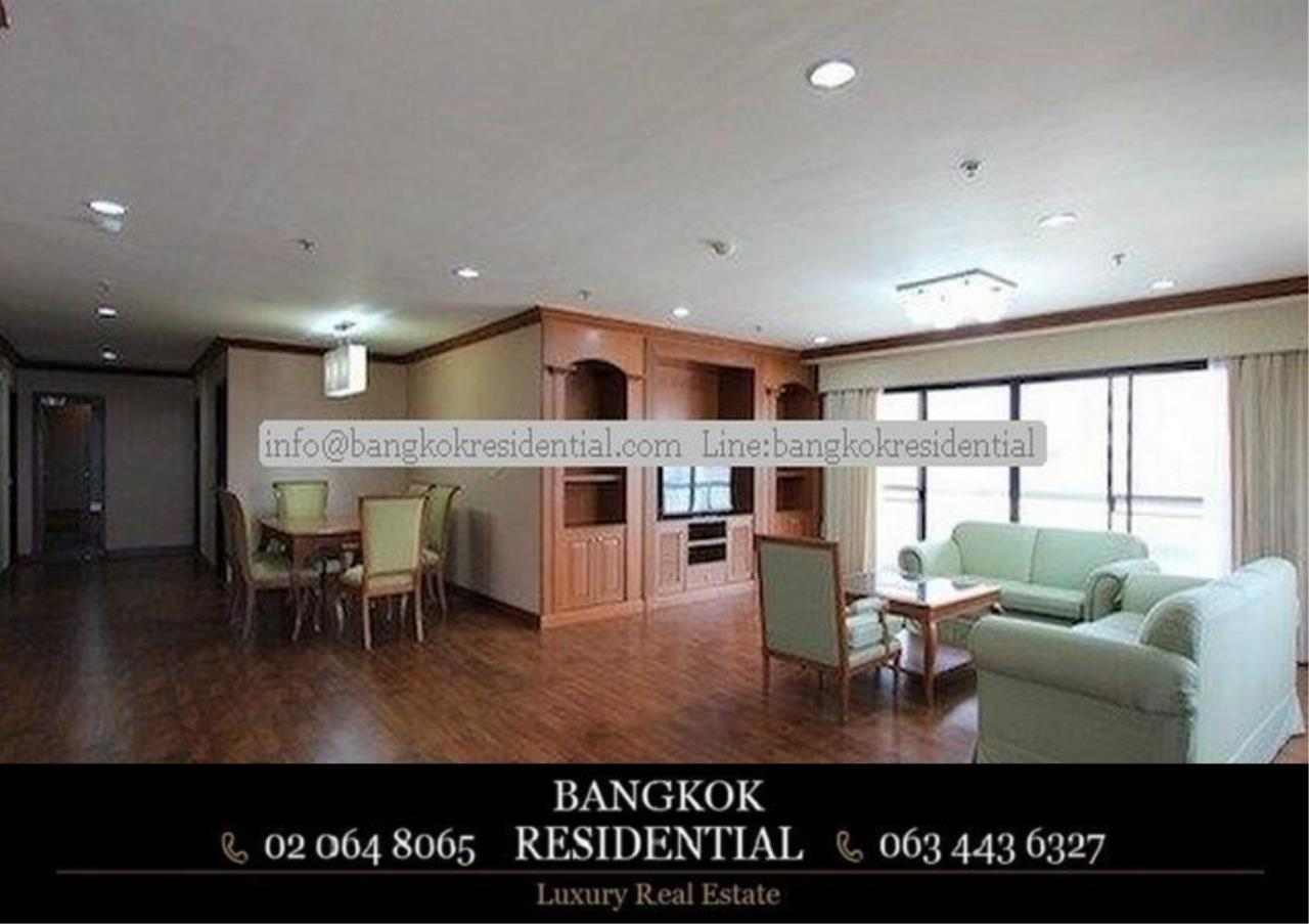 Bangkok Residential Agency's 3 Bed Serviced Apartment For Rent in Asoke BR0162AP 1