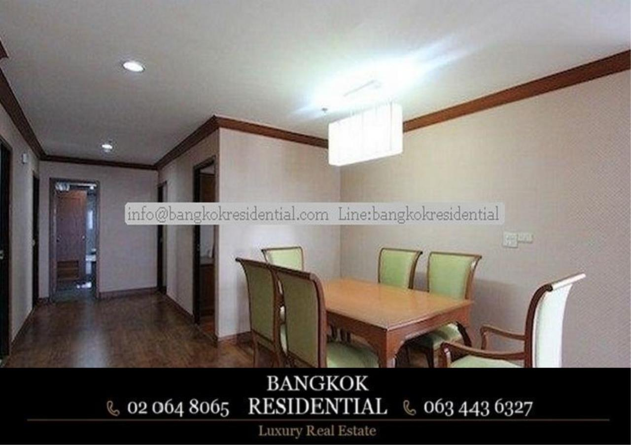 Bangkok Residential Agency's 3 Bed Serviced Apartment For Rent in Asoke BR0162AP 3