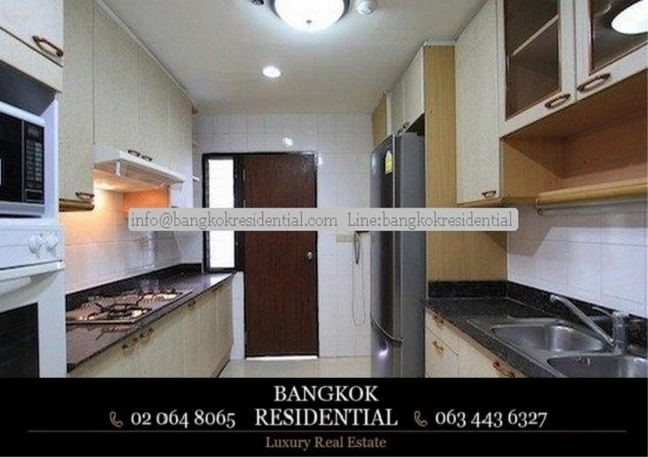 Bangkok Residential Agency's 3 Bed Serviced Apartment For Rent in Asoke BR0162AP 4