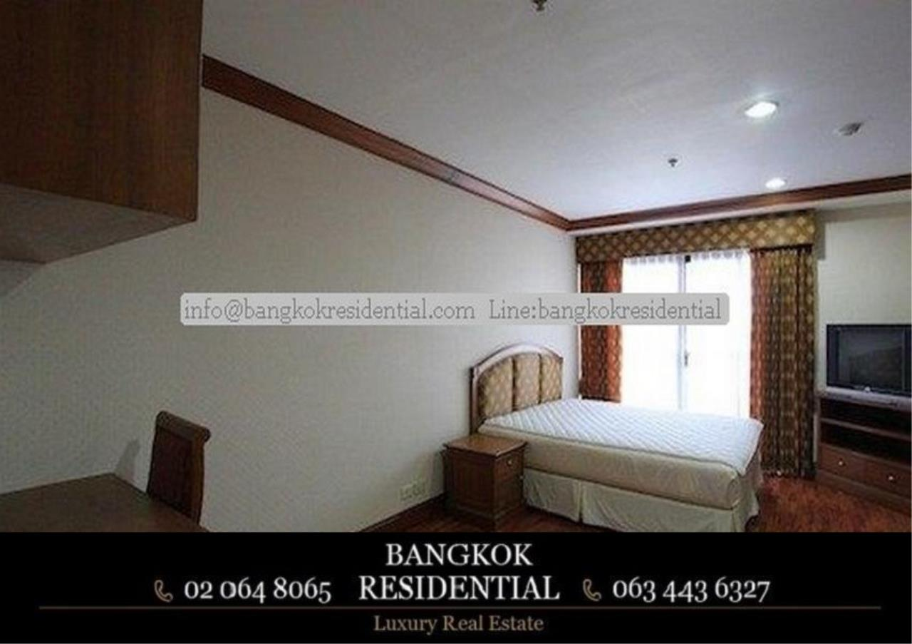 Bangkok Residential Agency's 3 Bed Serviced Apartment For Rent in Asoke BR0162AP 5