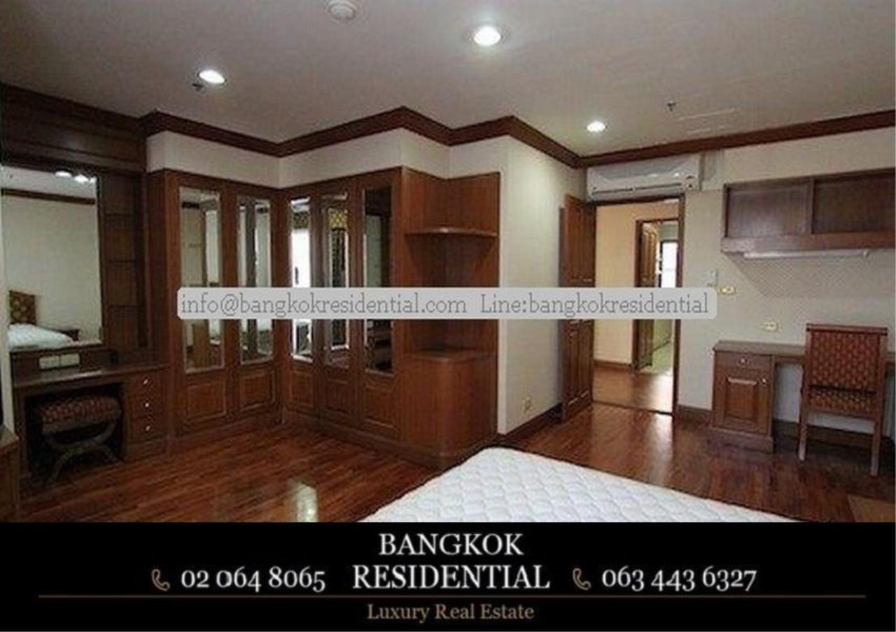 Bangkok Residential Agency's 3 Bed Serviced Apartment For Rent in Asoke BR0162AP 6