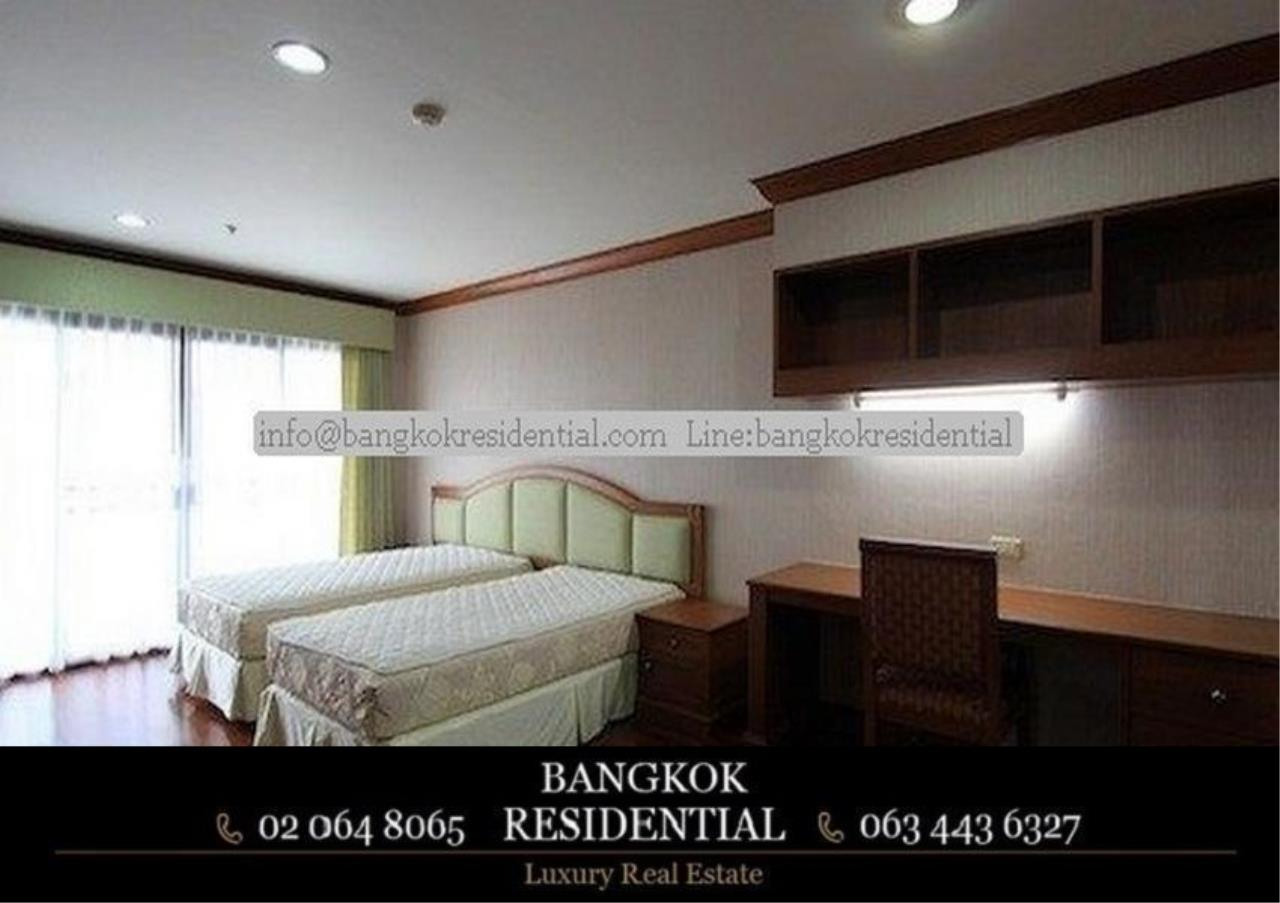 Bangkok Residential Agency's 3 Bed Serviced Apartment For Rent in Asoke BR0162AP 8
