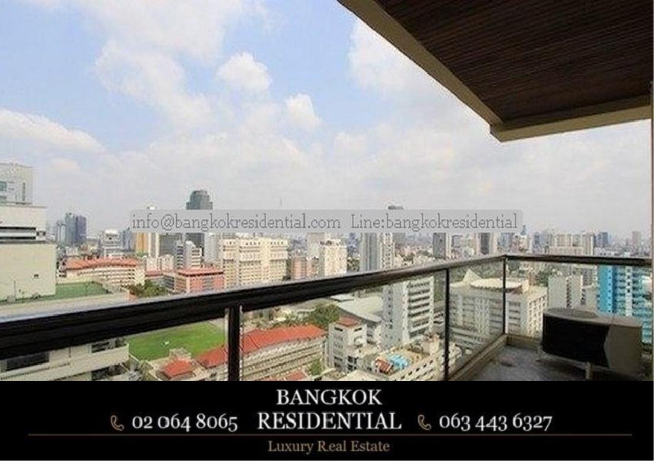 Bangkok Residential Agency's 3 Bed Serviced Apartment For Rent in Asoke BR0162AP 12