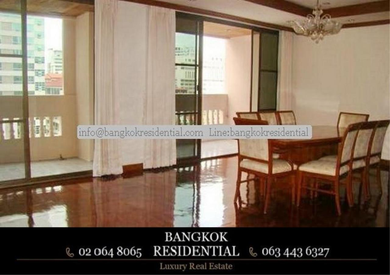 Bangkok Residential Agency's 4 Bed Apartment For Rent in Asoke BR0274AP 6