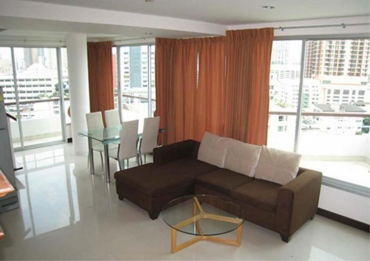Bangkok Residential Agency's 2 Bed Apartment For Rent in Asoke BR0336AP 1