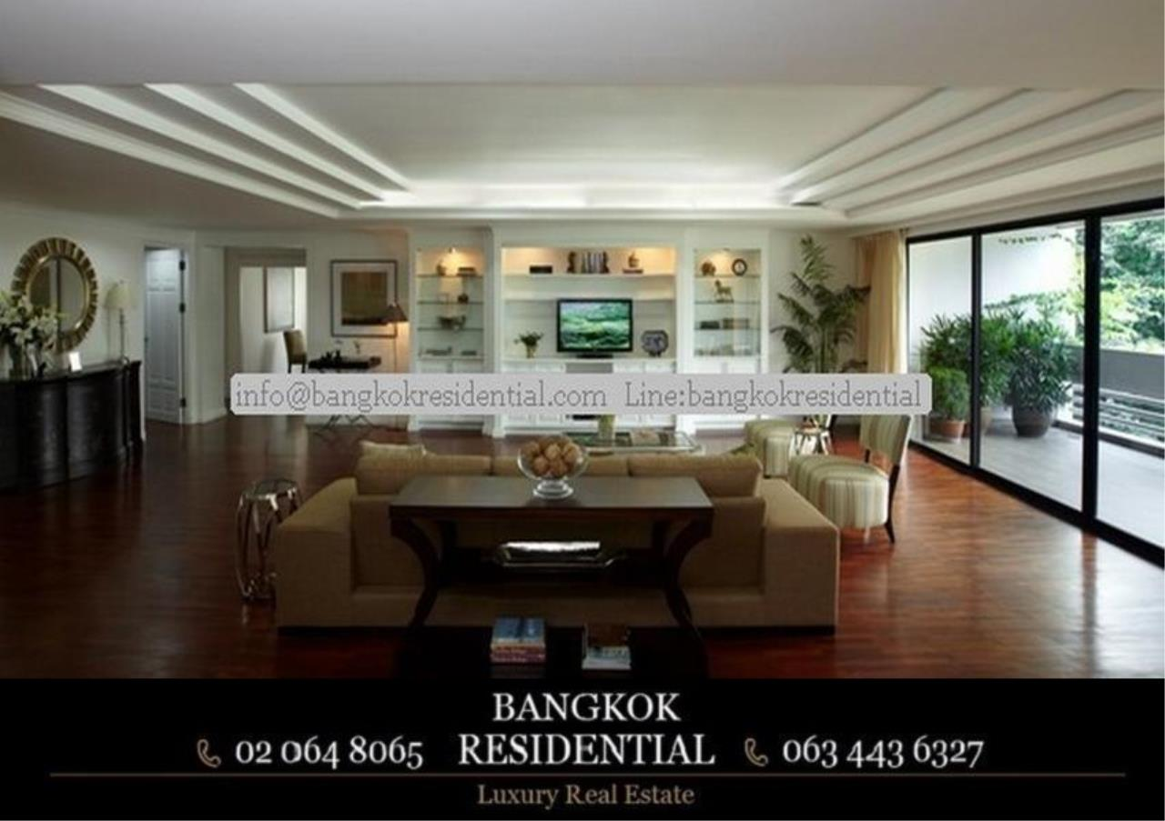 Bangkok Residential Agency's 4 Bed Apartment For Rent in Asoke BR0362AP 1