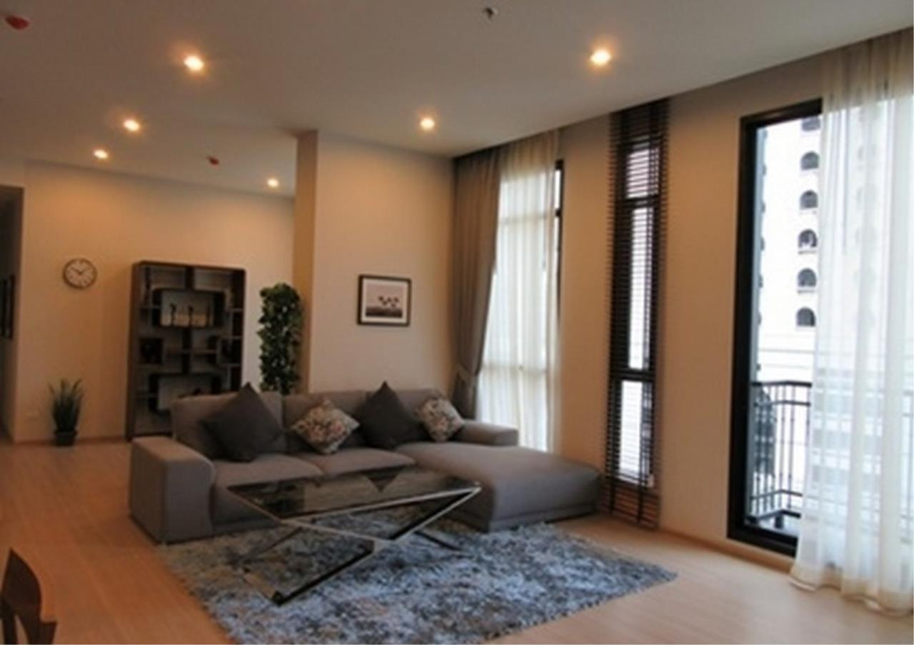 Bangkok Residential Agency's 4 Bed Condo For Rent in Phetchaburi BR1076CD 2