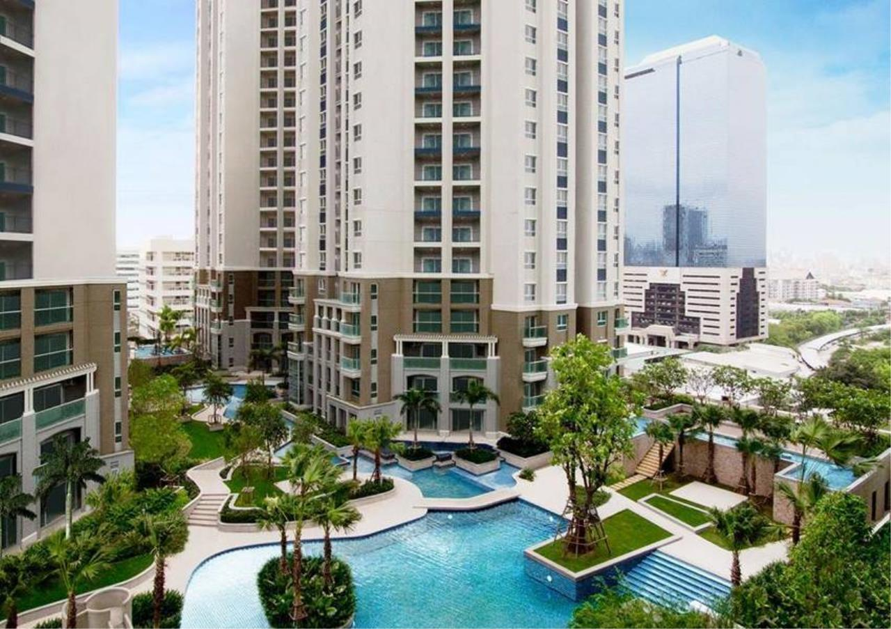 Bangkok Residential Agency's 2 Bed Condo For Rent in Rama 9 BR1214CD 1