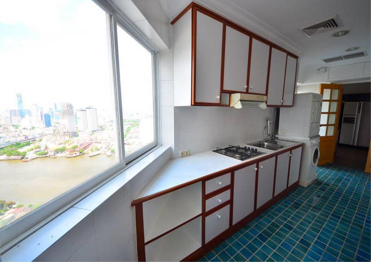 Bangkok Residential Agency's 5 Bed Penthouse For Rent Near Riverside BR1326CD 12