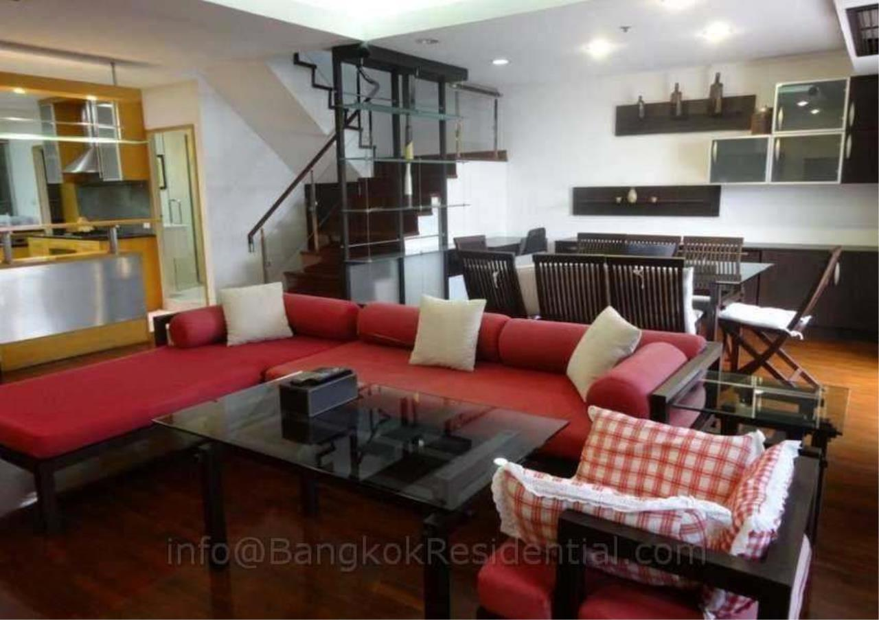 Bangkok Residential Agency's 2 Bed Duplex Condo For Rent in Phrom Phong BR2630CD 1