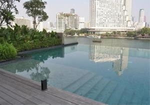 Bangkok Residential Agency's 2 Bed Condo For Rent Near Riverside BR2777CD 1