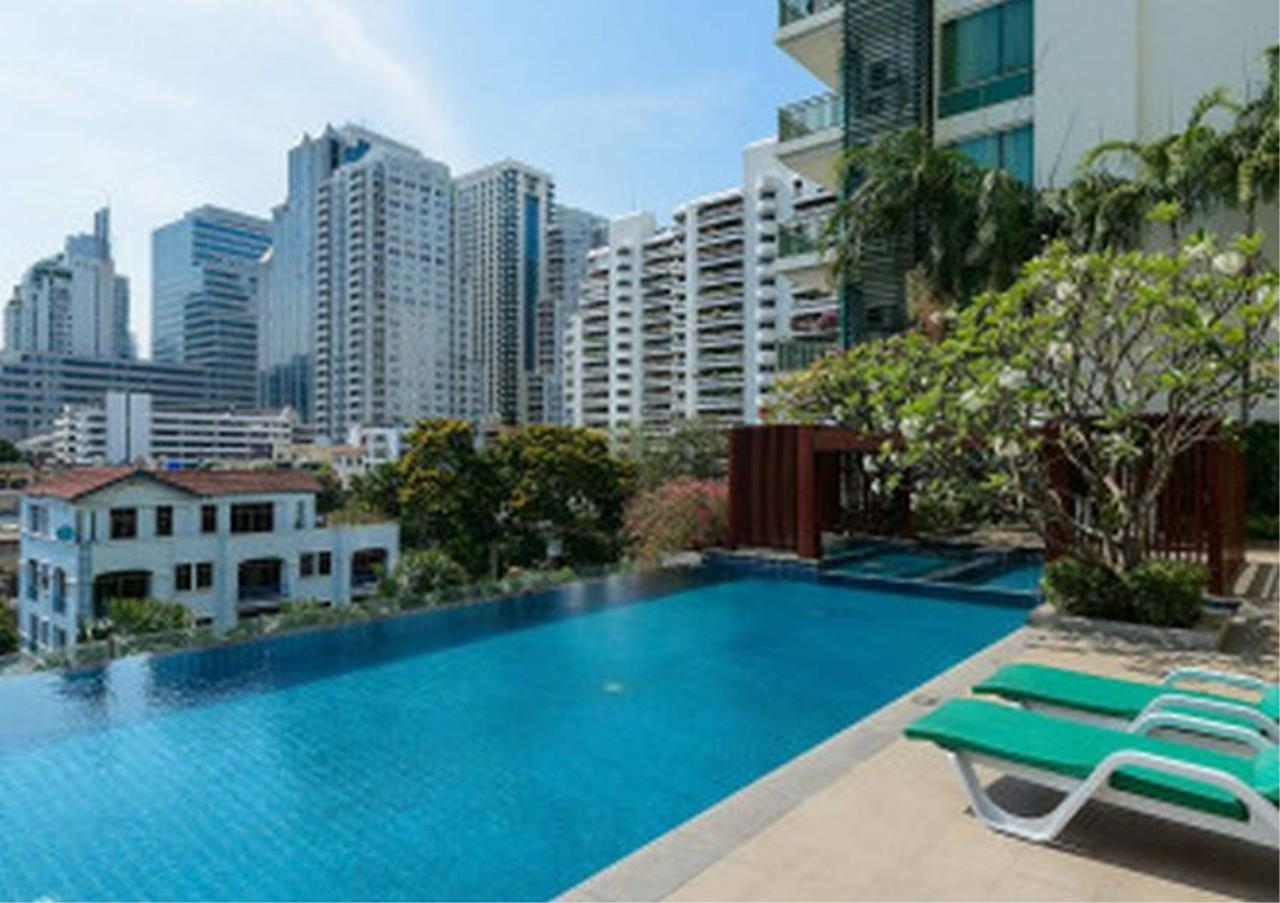 Bangkok Residential Agency's 3 Bed Penthouse For Rent in Asoke BR3253CD 24