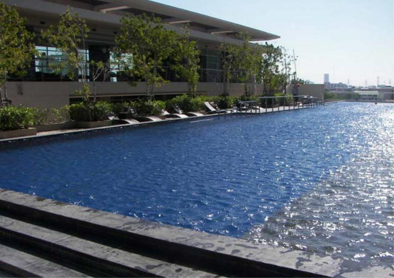 Bangkok Residential Agency's 2 Bed Condo For Rent Near Riverside BR4029CD 1