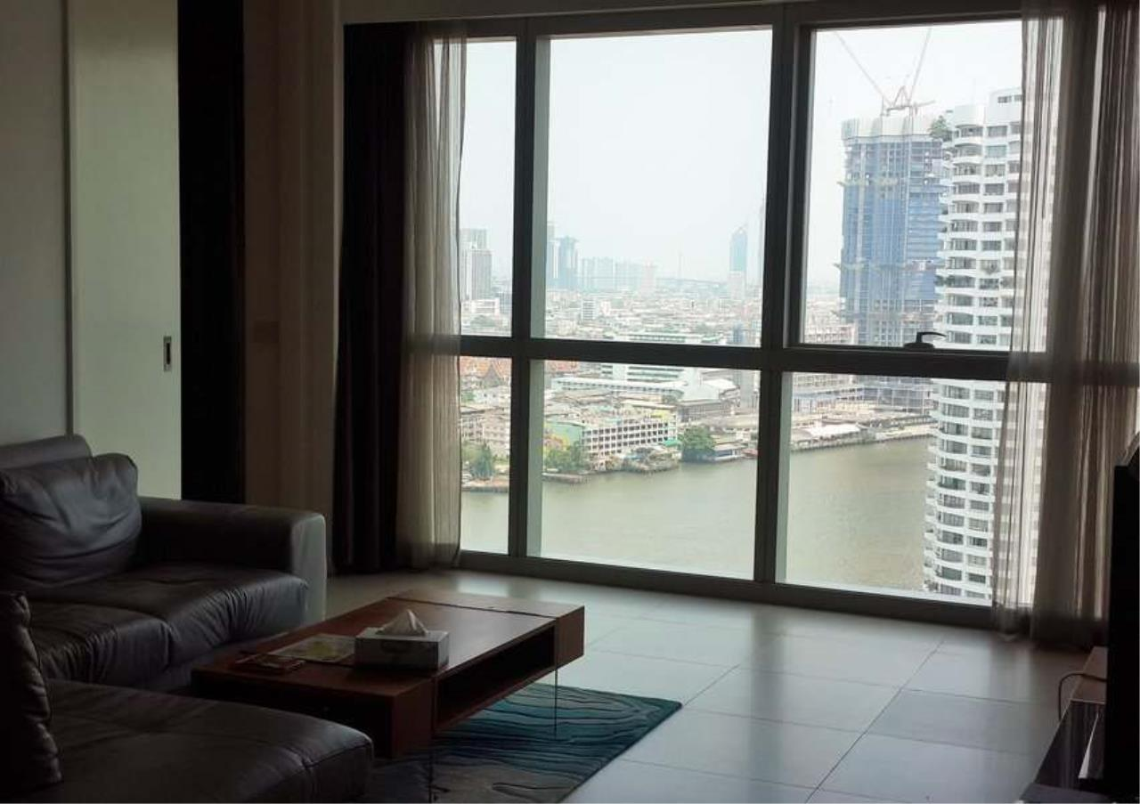 Bangkok Residential Agency's 2 Bed Condo For Rent Near Riverside BR4035CD 1