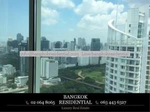 Bangkok Residential Agency's 3 Bed Condo For Rent in Chidlom BR4825CD 19
