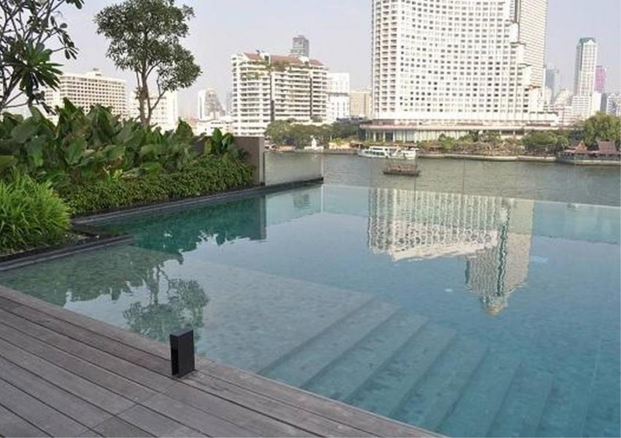 Bangkok Residential Agency's 2 Bed Condo For Rent Near Riverside BR5093CD 1