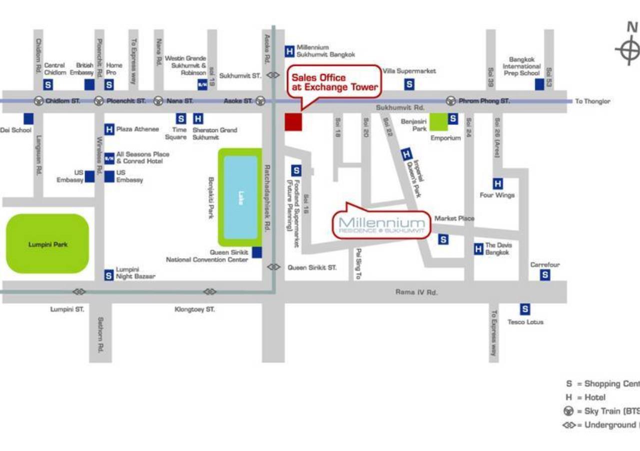 Bangkok Residential Agency's 3 Bed Condo For Sale in Asoke BR5354CD 27