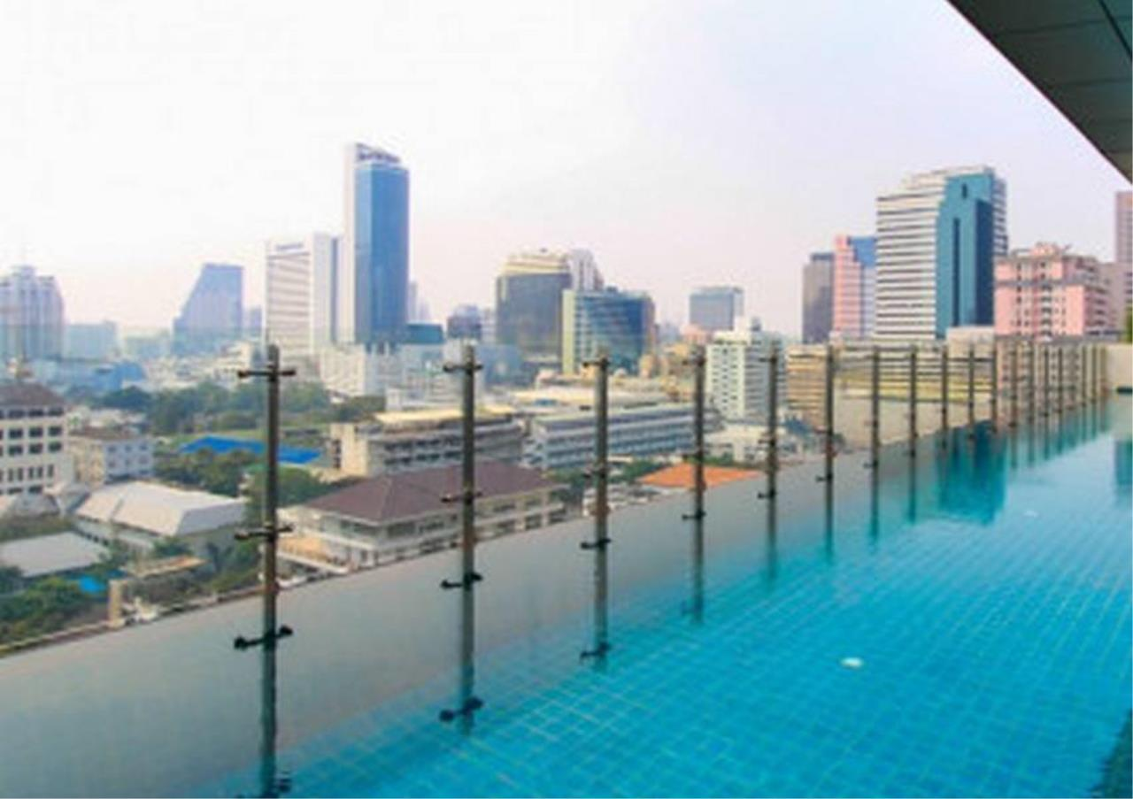 Bangkok Residential Agency's 2 Bed Condo For Rent in Silom BR5854CD 1