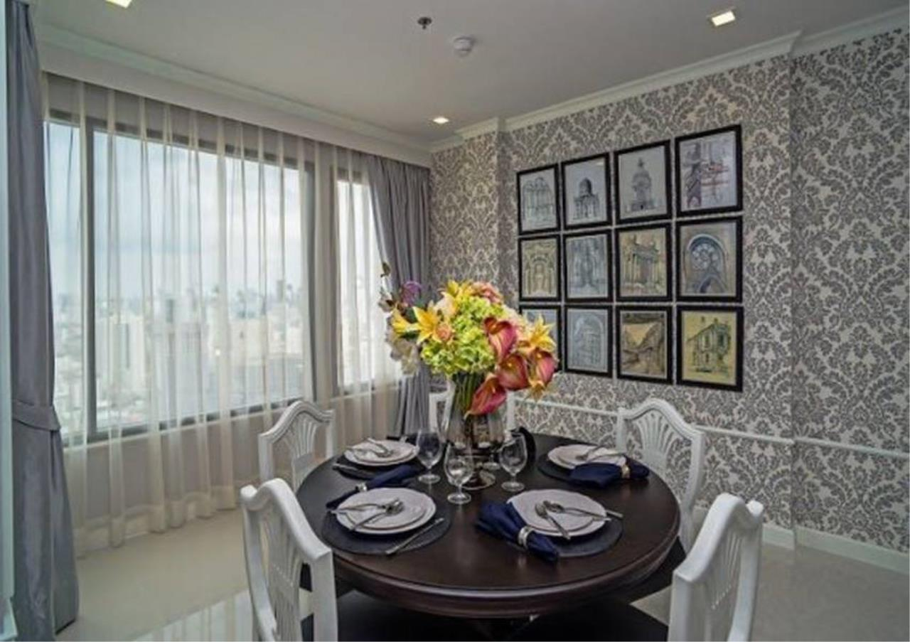 Bangkok Residential Agency's 3 Bed Penthouse For Rent in M Phayathai BR6684CD 2