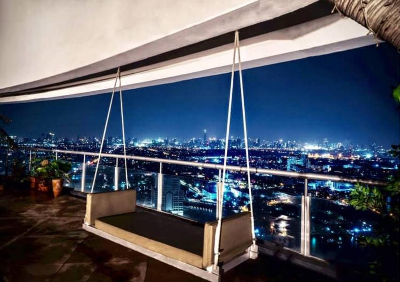 Bangkok Residential Agency's 6 Bed Penthouse For Sale Near Riverside BR6786CD 11
