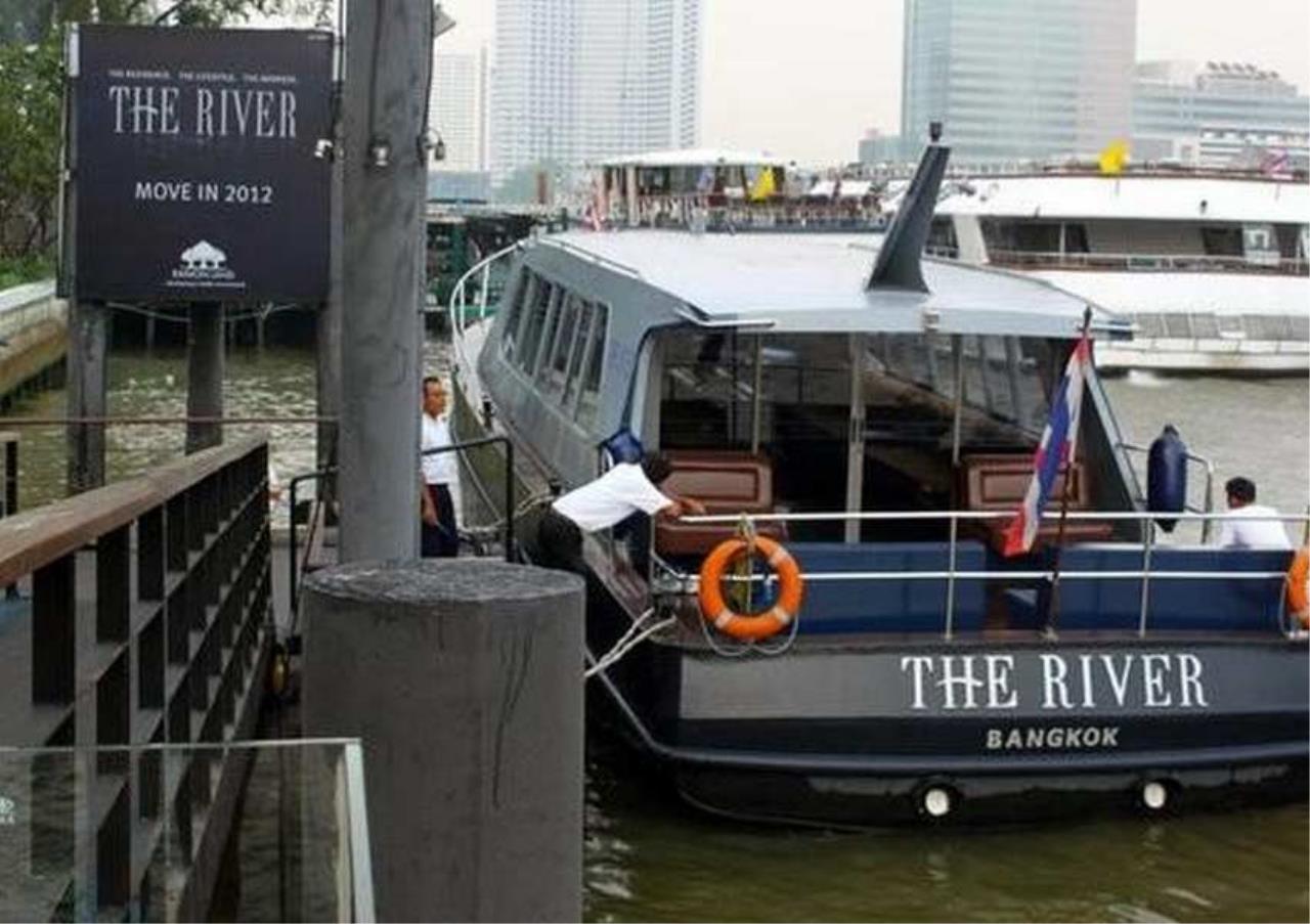 Bangkok Residential Agency's 3 Bed Condo For Rent Near Riverside BR6856CD 14