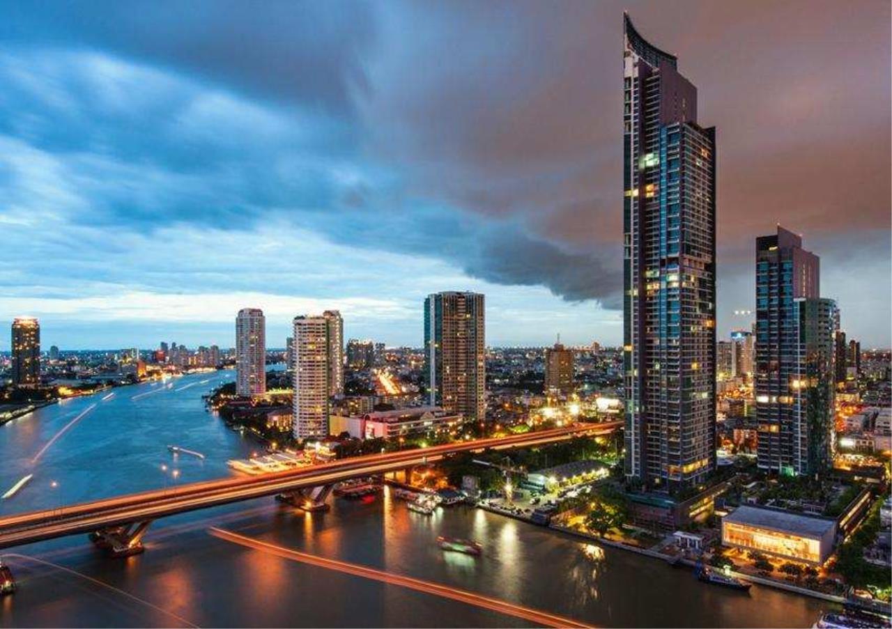 Bangkok Residential Agency's 3 Bed Condo For Rent Near Riverside BR6856CD 15