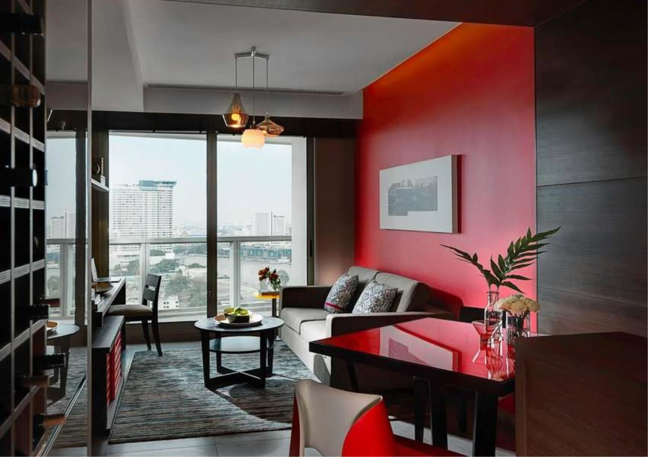 Bangkok Residential Agency's 2 Bed Serviced Apartment For Rent Near Riverside BR7005SA 1