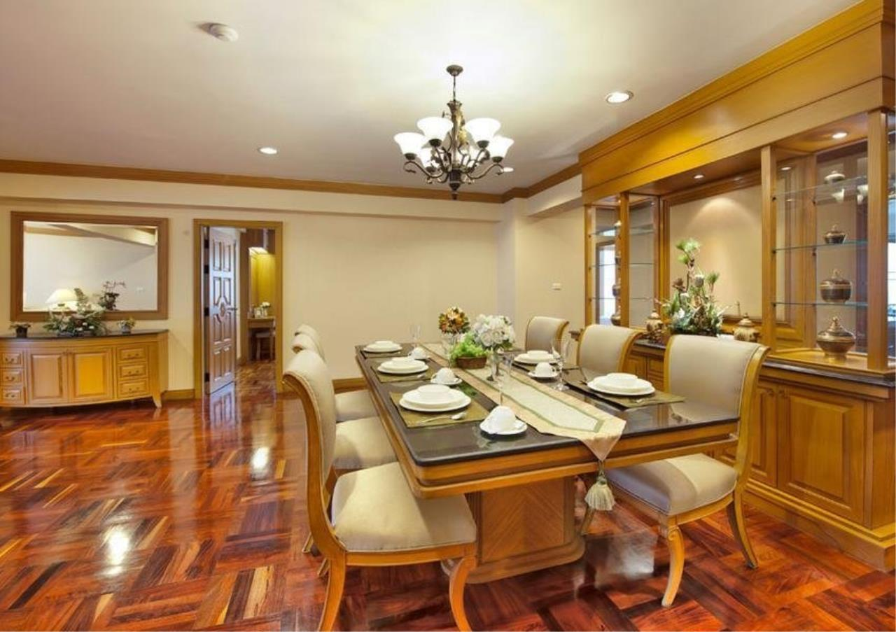 Bangkok Residential Agency's 4 Bed Serviced Apartment For Rent in Phrom Phong BR7025SA 2