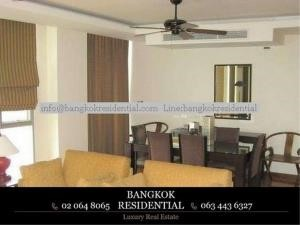 Bangkok Residential Agency's 3 Bed Serviced Apartment For Rent in Asoke BR7026SA 14