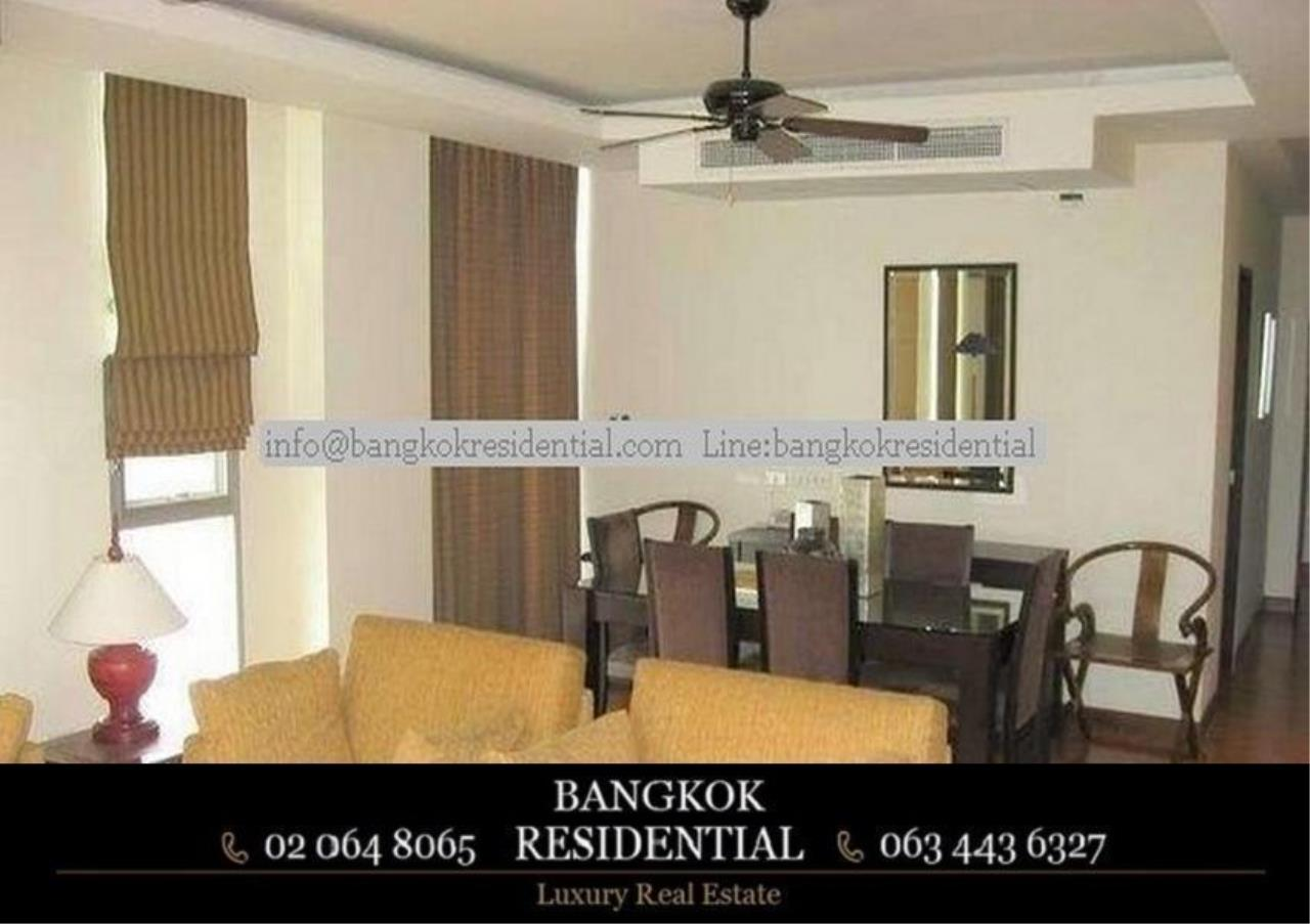 Bangkok Residential Agency's 3 Bed Serviced Apartment For Rent in Asoke BR7026SA 5