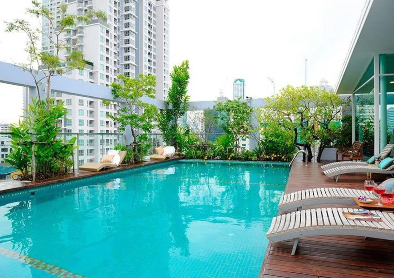 Bangkok Residential Agency's 1 Bed Serviced Apartment For Rent in Sathorn BR7072SA 1