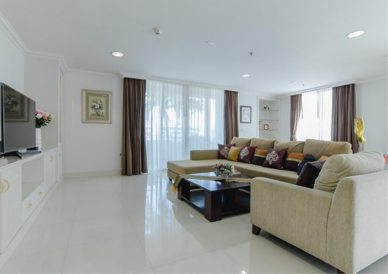 Bangkok Residential Agency's 4 Bed Serviced Apartment For Rent in Phrom Phong BR7101SA 1