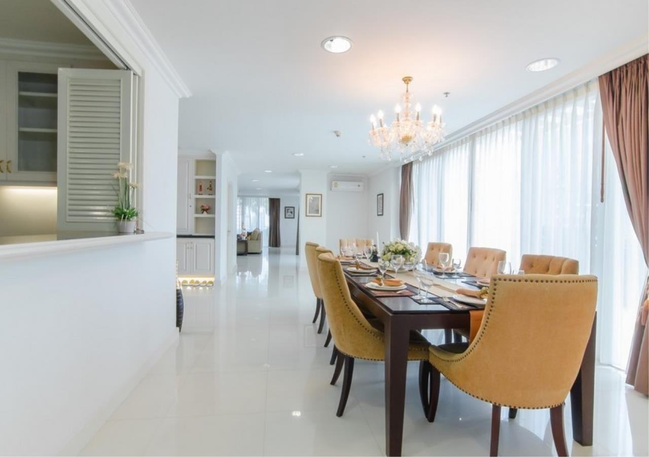 Bangkok Residential Agency's 4 Bed Serviced Apartment For Rent in Phrom Phong BR7101SA 2