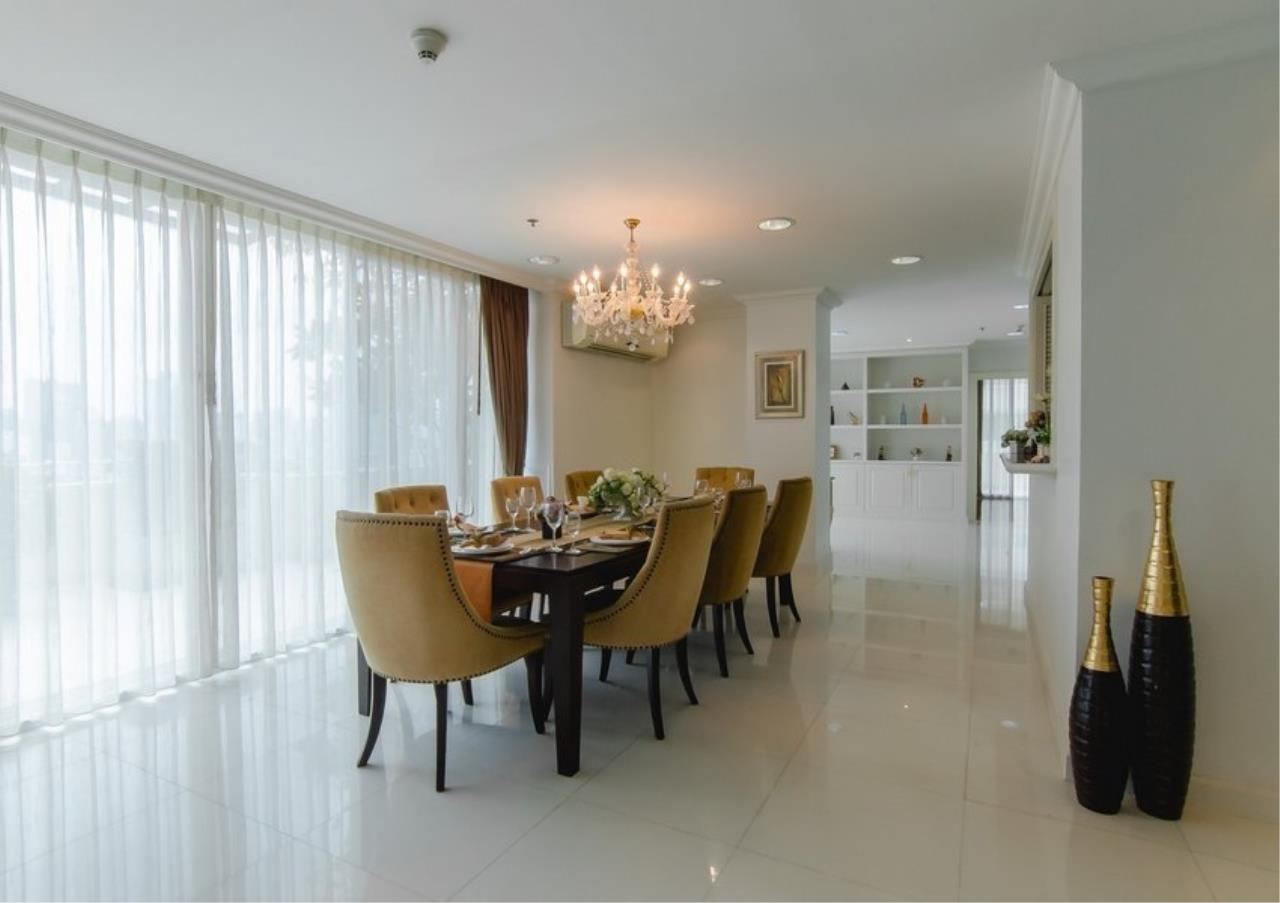 Bangkok Residential Agency's 4 Bed Serviced Apartment For Rent in Phrom Phong BR7101SA 3