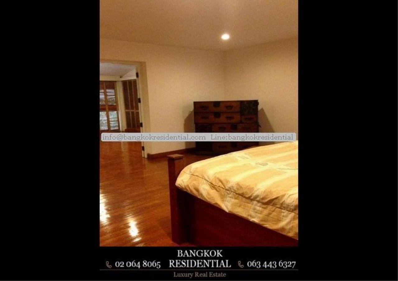 Bangkok Residential Agency's 4 Bed Single House in Compound For Rent in Thonglor BR7673SH 5