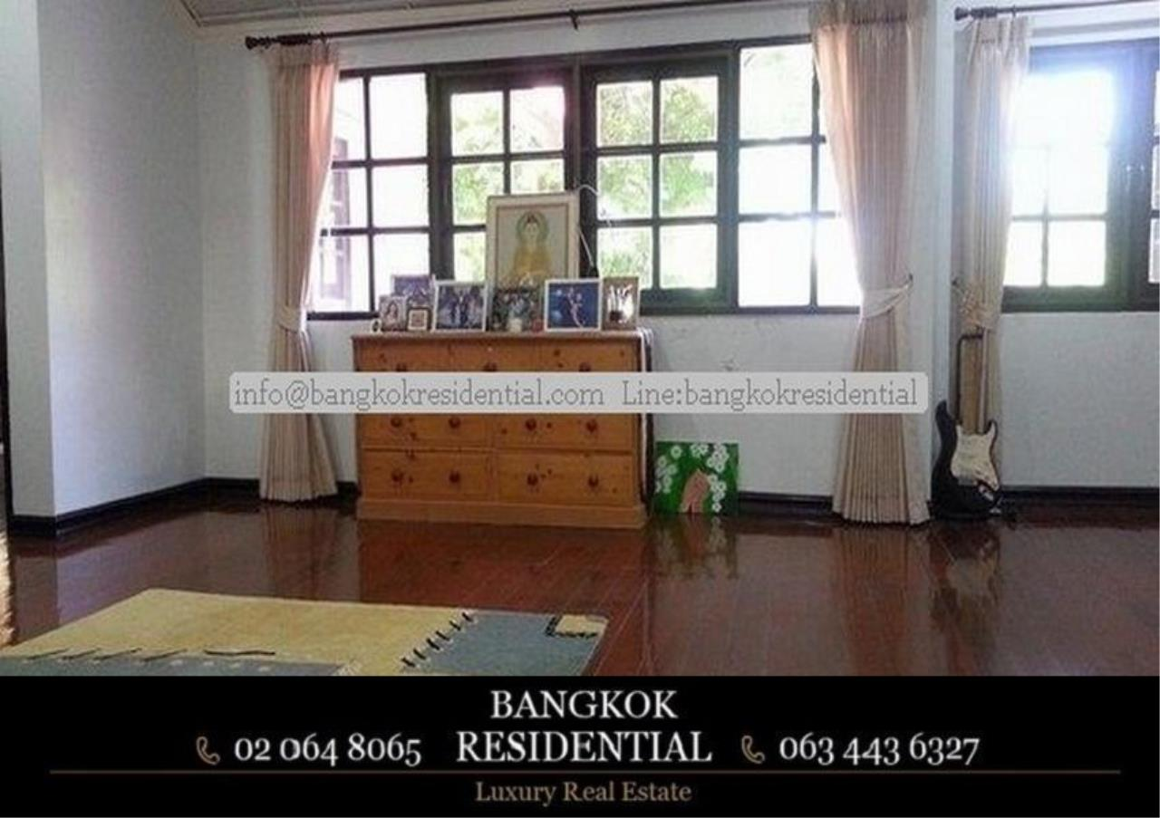 Bangkok Residential Agency's 5 Bed Single House in Compound For Rent in On Nut BR7718SH 4