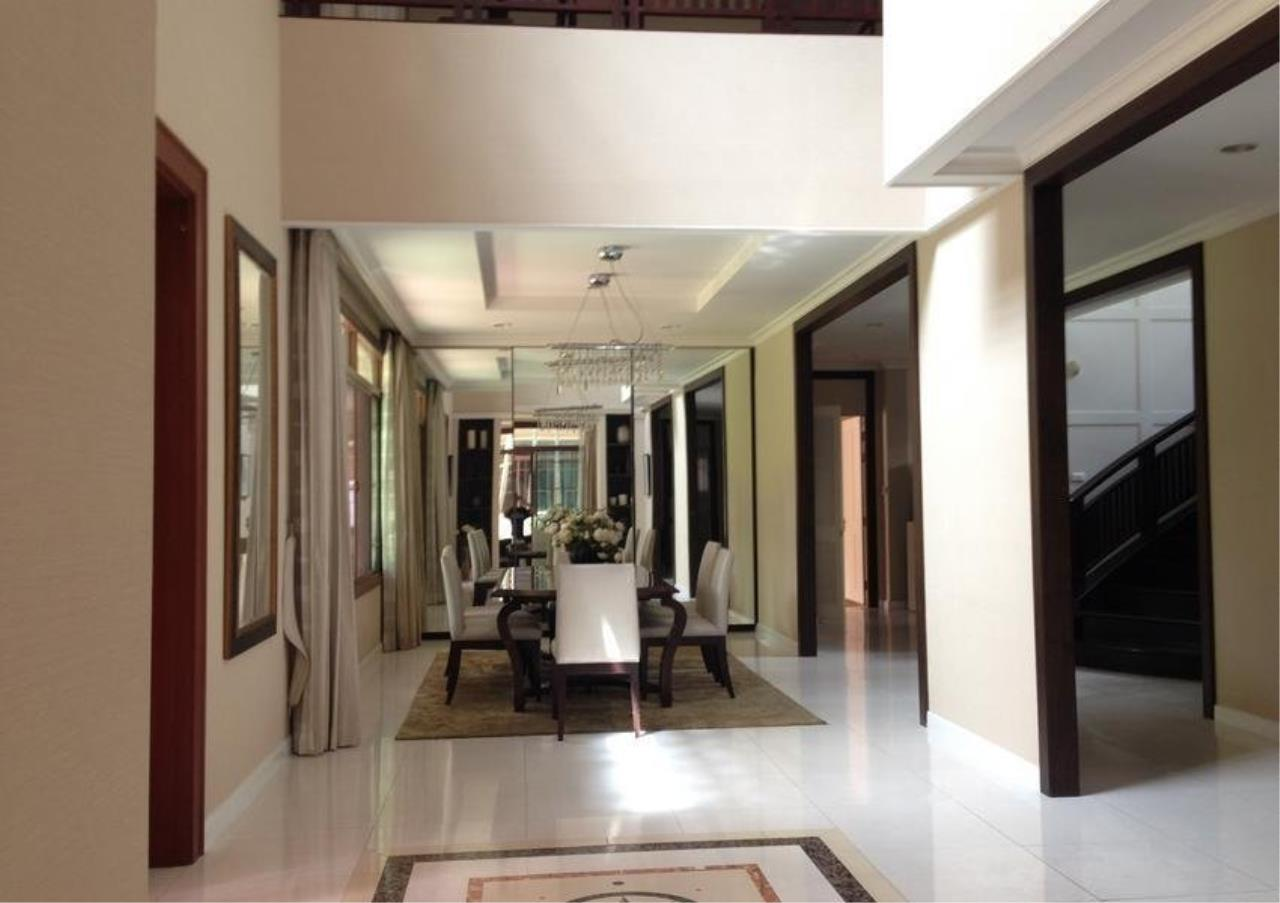 Bangkok Residential Agency's 4 Bed Single House in Compound For Rent in On Nut BR7747SH 1
