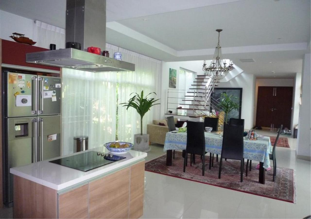 Bangkok Residential Agency's 4 Bed Single House in Compound For Rent in On Nut BR7756SH 35