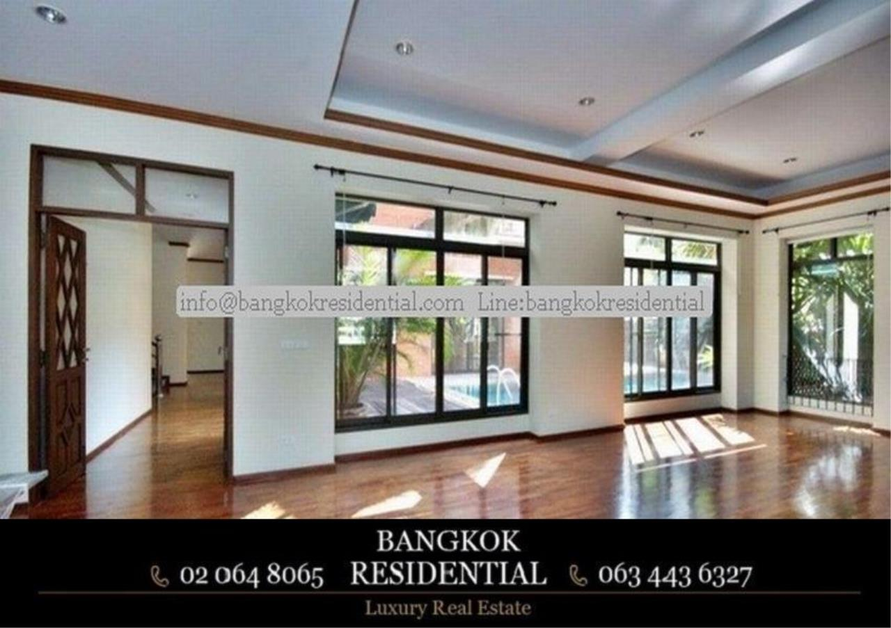 Bangkok Residential Agency's 6 Bed Single House in Compound For Rent in Thonglor BR7778SH 3