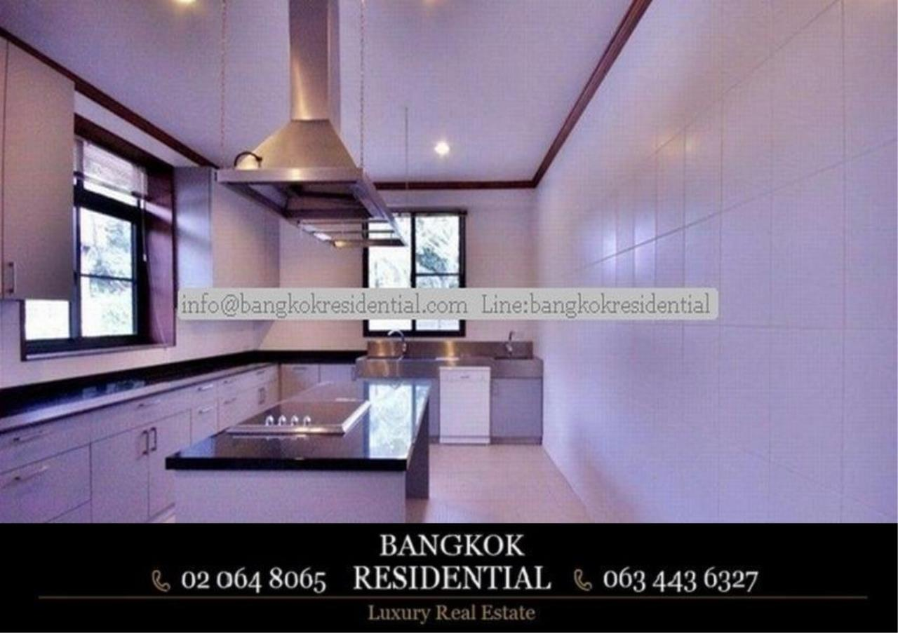 Bangkok Residential Agency's 6 Bed Single House in Compound For Rent in Thonglor BR7778SH 7