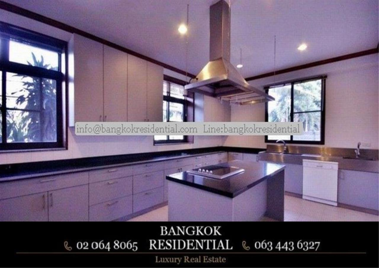 Bangkok Residential Agency's 6 Bed Single House in Compound For Rent in Thonglor BR7778SH 8