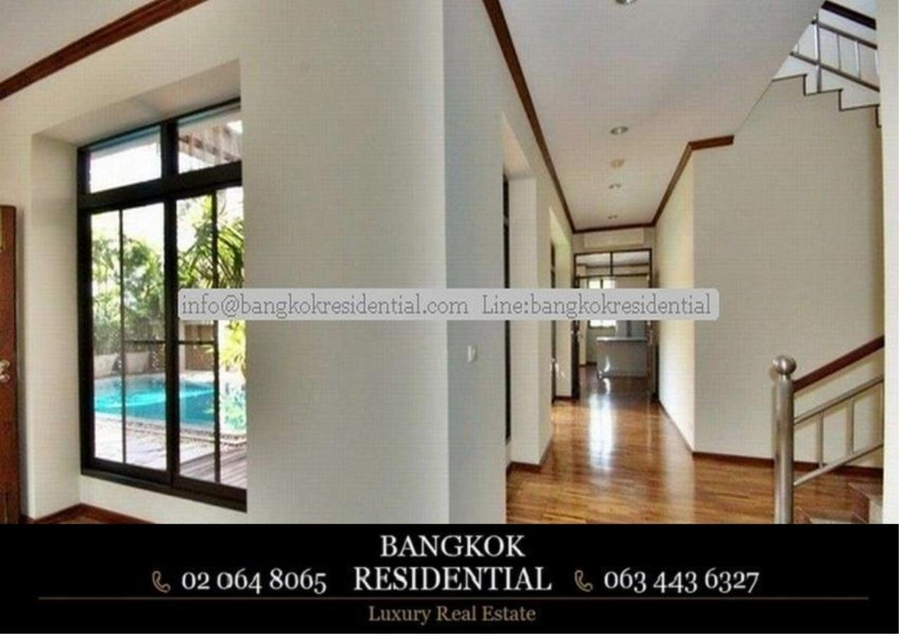 Bangkok Residential Agency's 6 Bed Single House in Compound For Rent in Thonglor BR7778SH 10