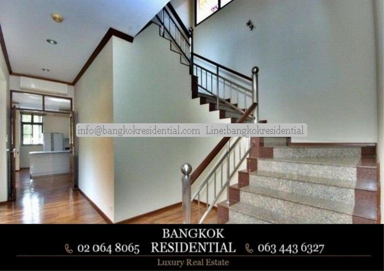 Bangkok Residential Agency's 6 Bed Single House in Compound For Rent in Thonglor BR7778SH 11