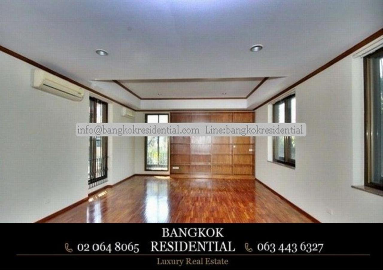 Bangkok Residential Agency's 6 Bed Single House in Compound For Rent in Thonglor BR7778SH 13
