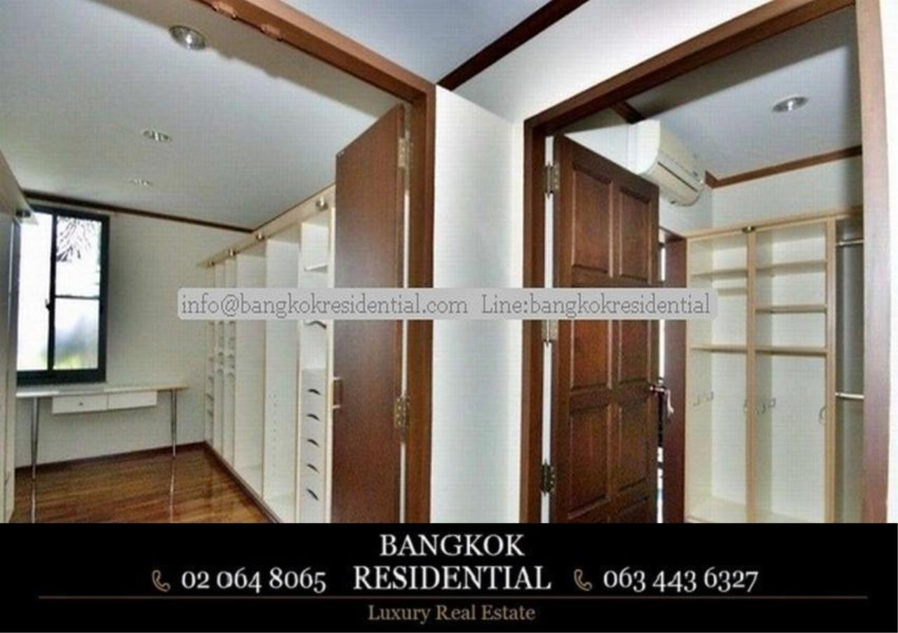 Bangkok Residential Agency's 6 Bed Single House in Compound For Rent in Thonglor BR7778SH 16