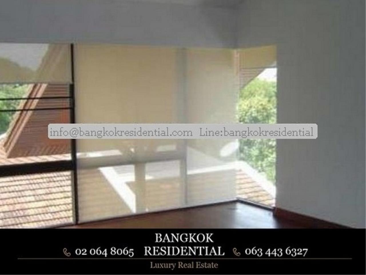 Bangkok Residential Agency's 3 Bed Single House in Compound For Rent in Thonglor BR7799SH 6