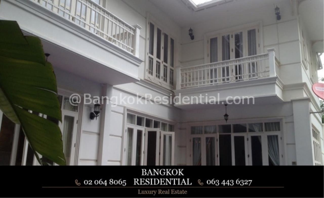 Bangkok Residential Agency's 4 Bed Single House For Rent in Phrom Phong BR7853SH 1